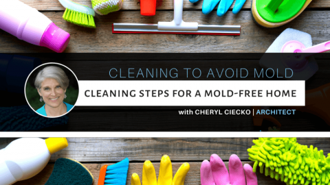Cleaning for a mold-free home, whether you have mold or not